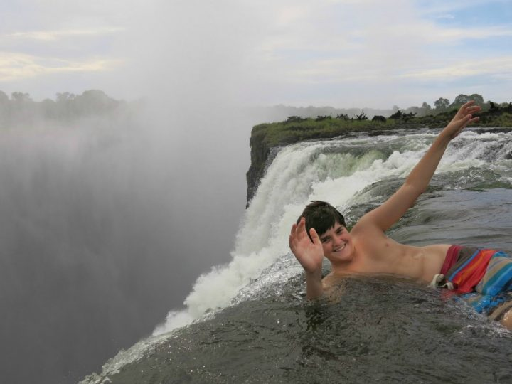 On the Edge of Victoria Falls