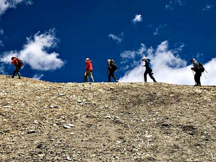 Trekking with the Women of Ladakh