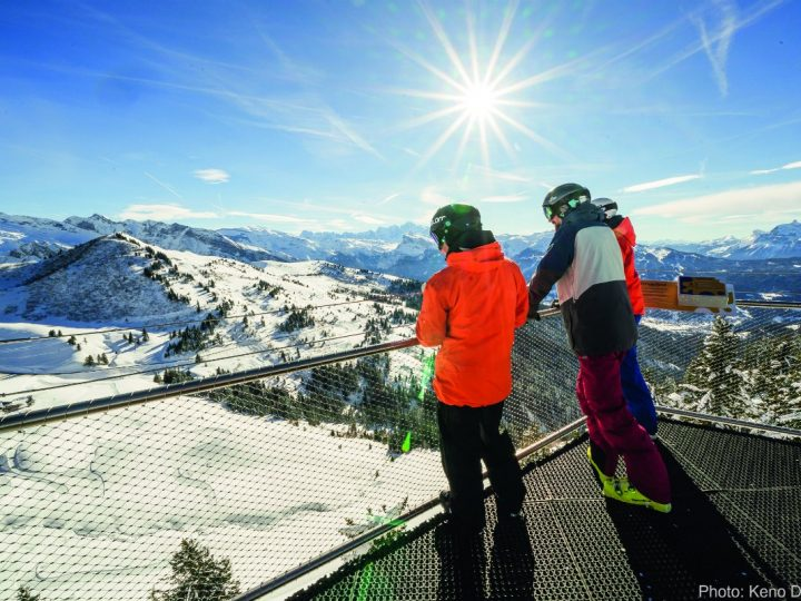 The Best Family Skiing in the French Alps