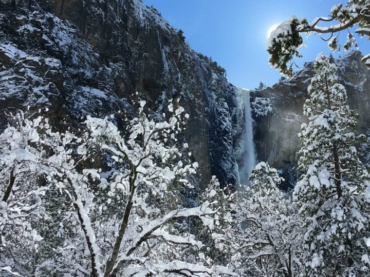 A Yosemite Winter Gamble