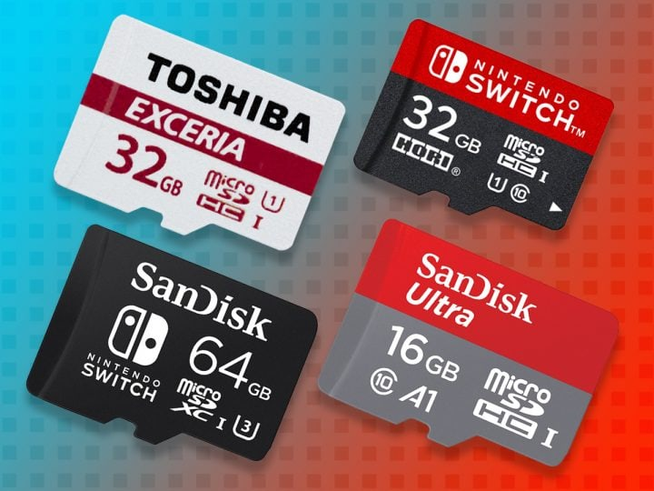 Best SD Cards for Nintendo Switch
