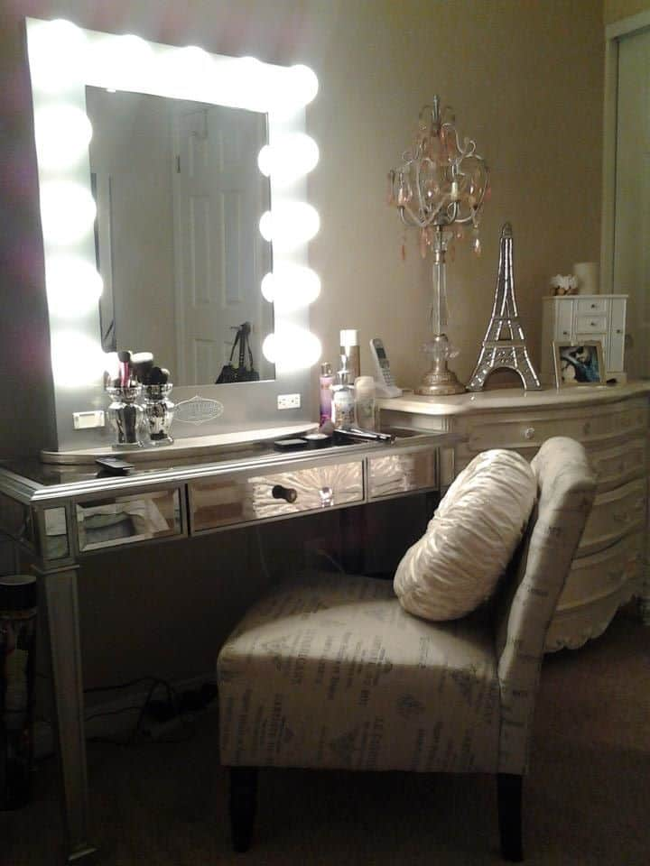Lighted Vanity