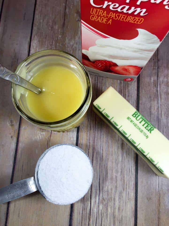 This Low Carb Sweetened Condensed Milk is made with only three ingredients! It will take your keto baking to the next level! #trimhealthymama #thm #thms #lowcarb #keto #sugarfree #condensedmilk
