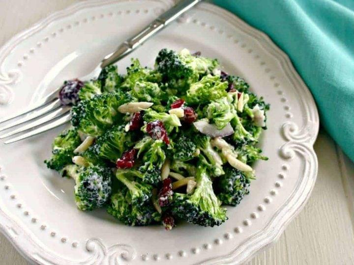 Lightened Up Broccoli Salad