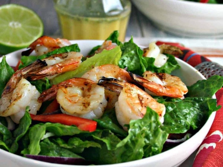 Citrus Grilled Shrimp Salad | Life, Love, and Good Food