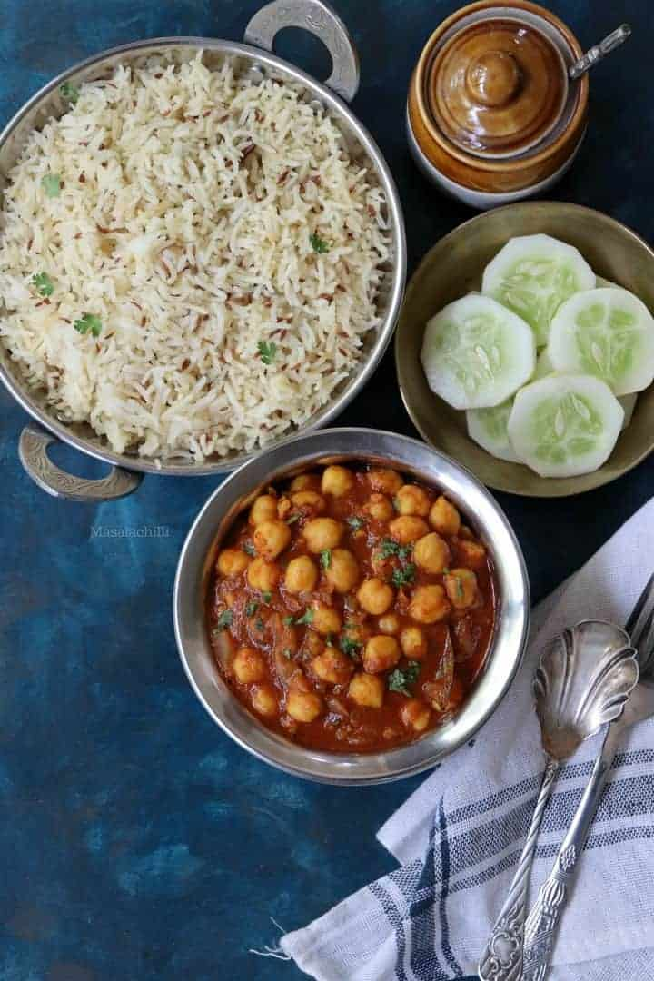 Chana Masala (Easy Indian Chickpea Curry)