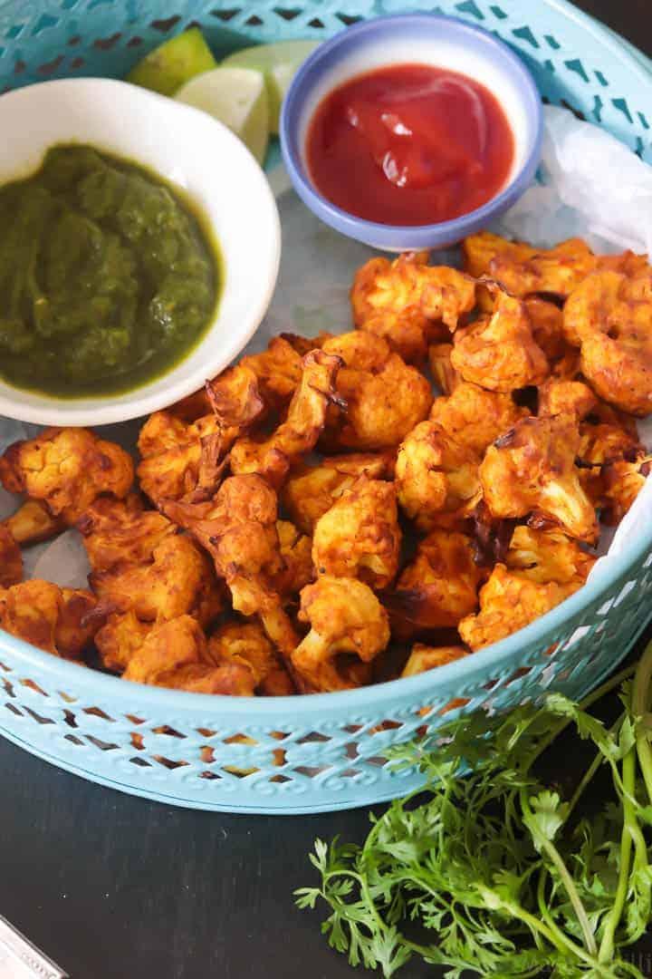 Air Fryer Cauliflower Tikka – Easy Cauliflower Snack Recipe