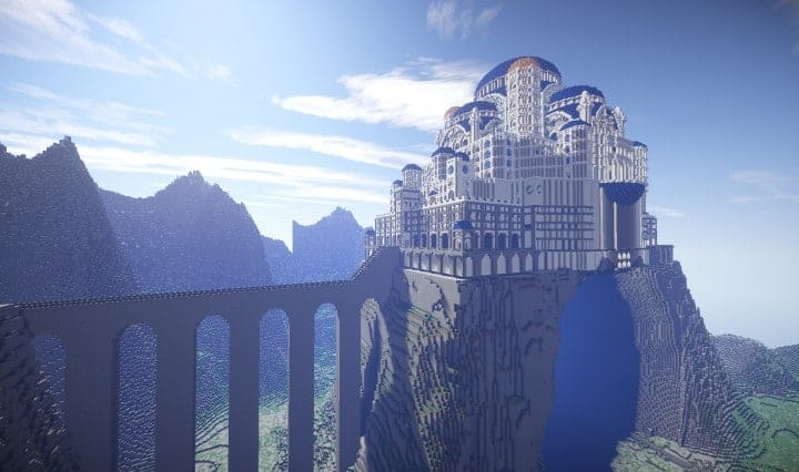 The Eyrie Game of Thrones Minecraft building ideas downlaod save tv show hbo
