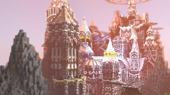 Tarsia The Immortal Palace minecraft building ideas download save castle tower future 5