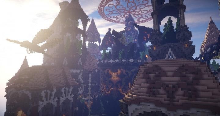 Tarsia The Immortal Palace minecraft building ideas download save castle tower future 6