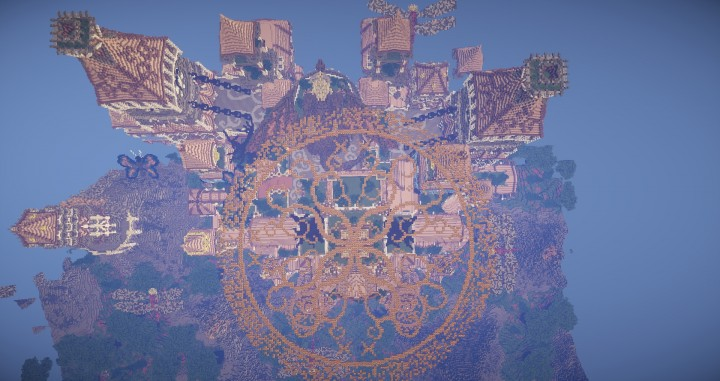 Tarsia The Immortal Palace minecraft building ideas download save castle tower future 9