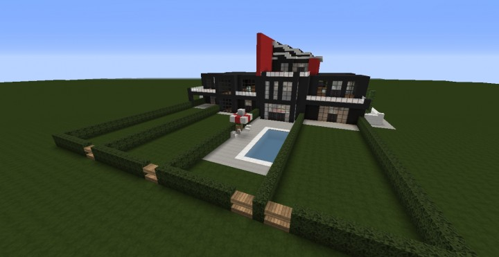 Modern Condo Apartment building minecraft ideas download save city complete 4