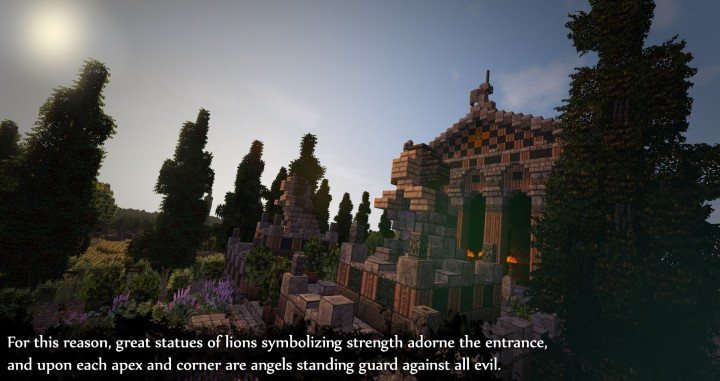 Greek Themed Temple of Xanthos Timelapse Download  Minecraft building ideas amazing conquest lore 9