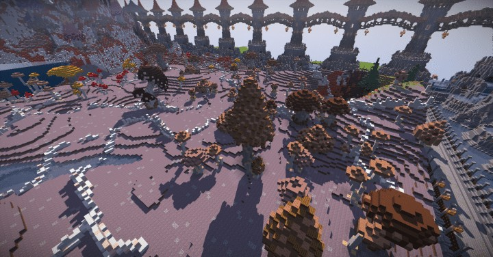 130 REALISTIC MUSHROOMS Schematics Minecraft amazing download ton lots screenshots 8