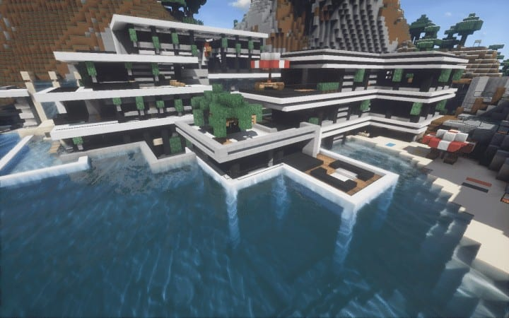 Chicken Cove luxurious house addons updated beautiful download minecraft building ideas 7