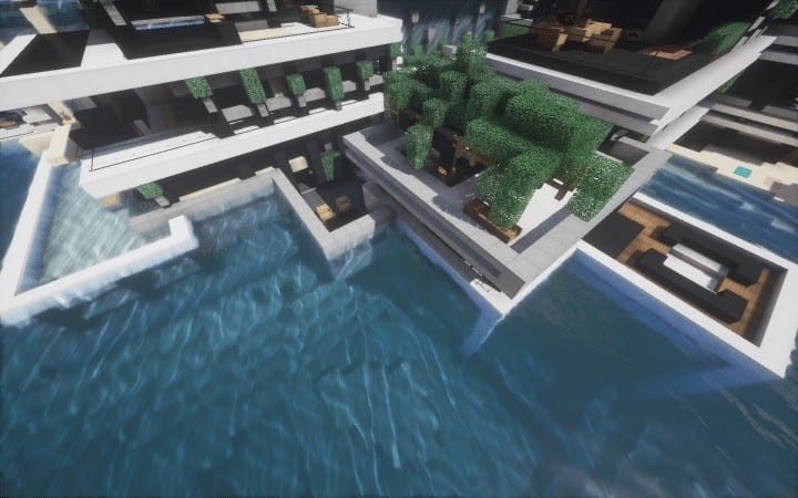 Chicken Cove luxurious house addons updated beautiful download minecraft building ideas 8