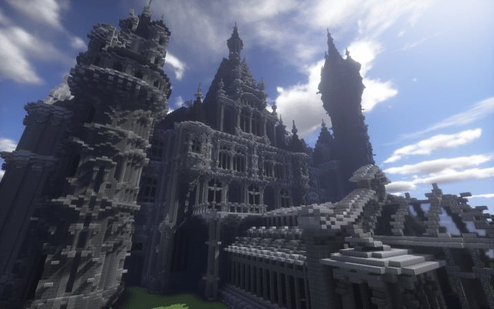 the-moszna-castle-a-gothic-and-baroque-castle-minecraft-building-ideas-download-save-detail-crazy-6