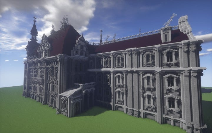 the-moszna-castle-a-gothic-and-baroque-castle-minecraft-building-ideas-download-save-detail-crazy-9