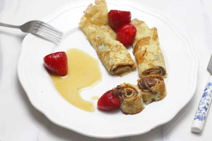 The easiest crêpes style Pancakes