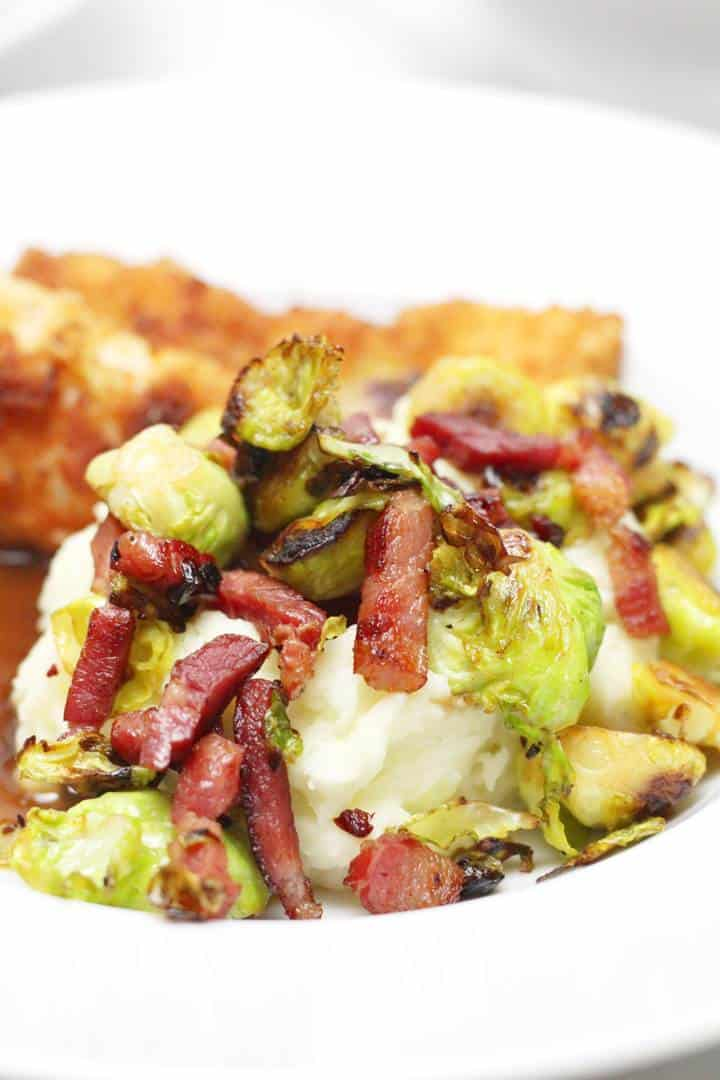 crispy bacon Brussel sprouts