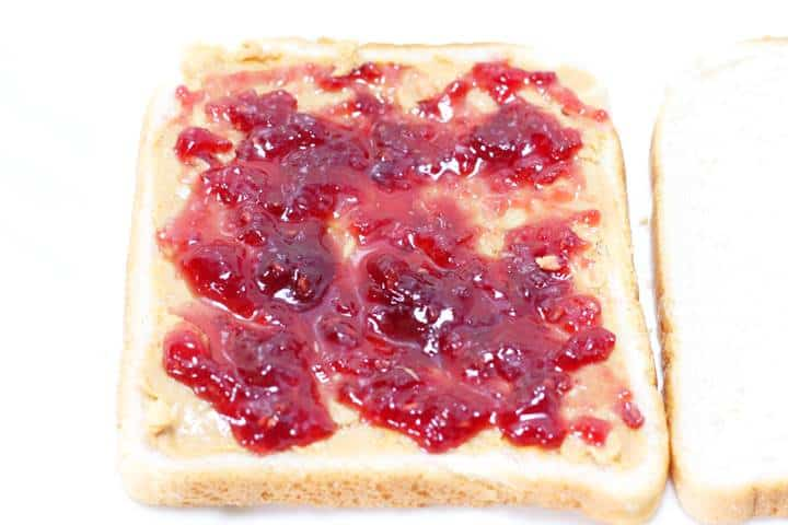 peanut butter and jelly mix