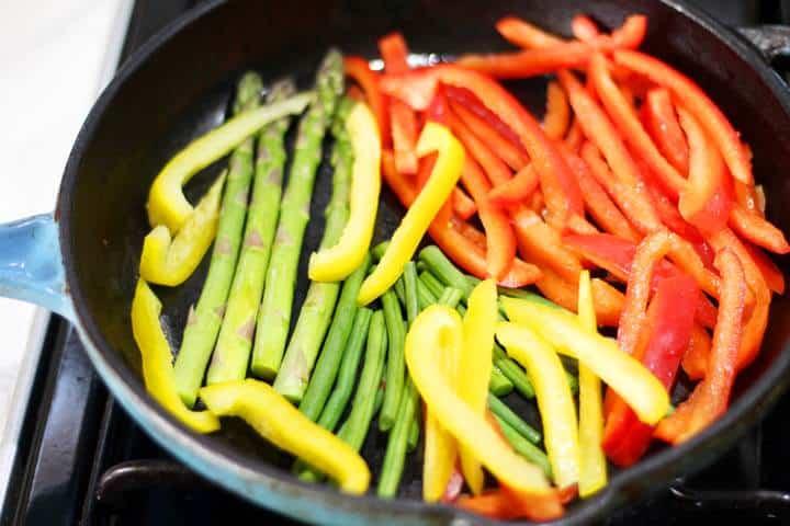 veggie fajita recipe
