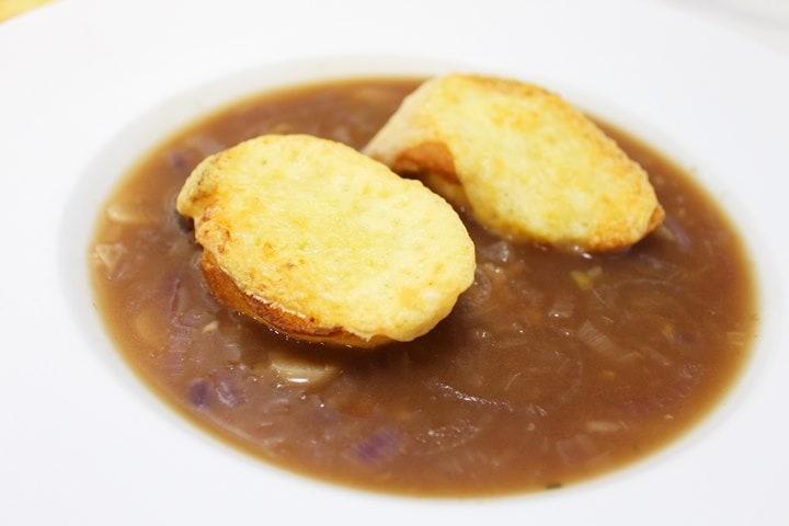 onion soup recipe vegetarian