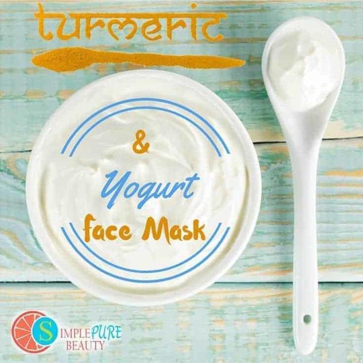 Turmeric and Yogurt Face Mask | SimplePureBeauty.com