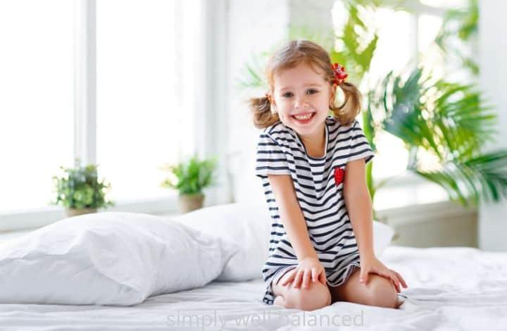 Happy Child in a Minimalist Room: Benefits of Minimalism