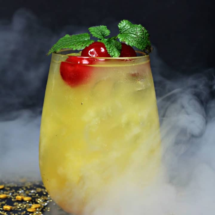 Captain Marvel Mocktail