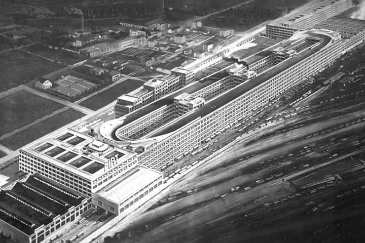 FIAT Fabrik Lingotto in Turin