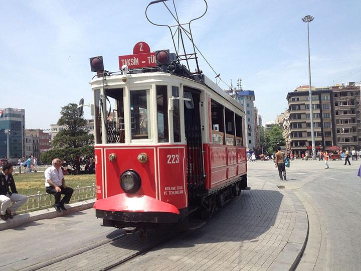 Istanbul Tramway Taksim Place 720