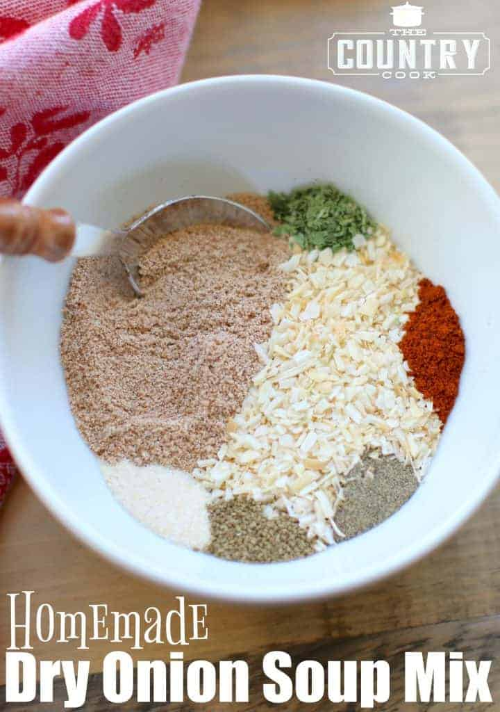 Homemade Dry Onion Soup Mix recipe at The Country Cook