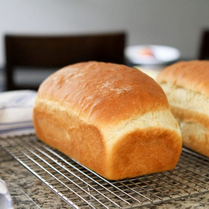 two loaves egg bread