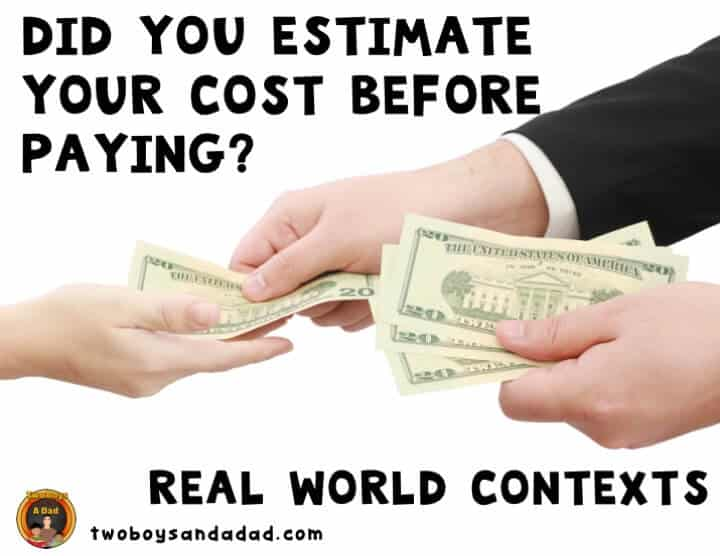 Provide a real world context for learning rounding