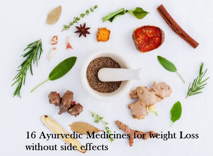 Ayurvedic medicines for weight loss without side effects