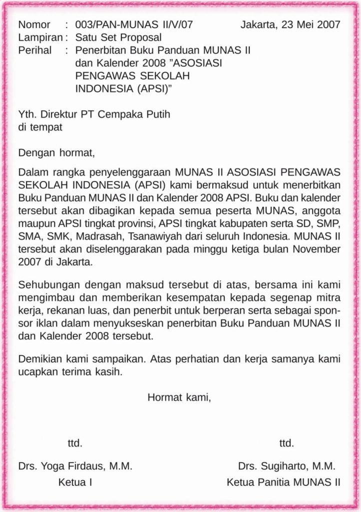 Contoh Surat Pemberitahuan Dari Sekolah