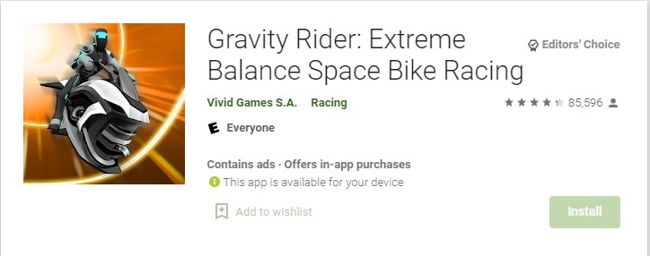gravity rider - Bike wala game