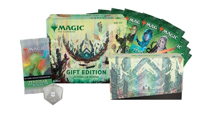Zendikar Rising Gift Edition Bundle Contents Review