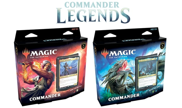 Commander Legends Decks Decklists Banner