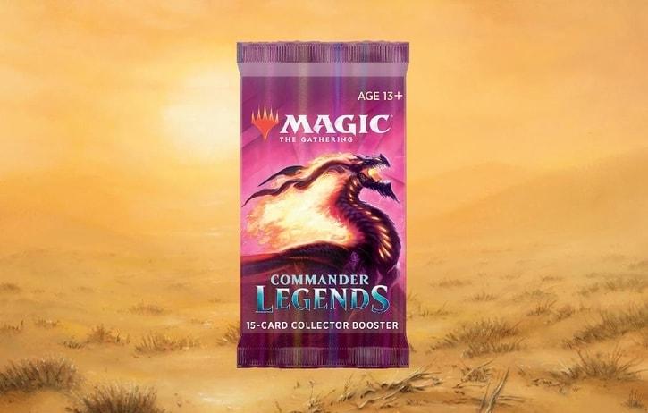 Commander Legends Collector Booster Contents Banner