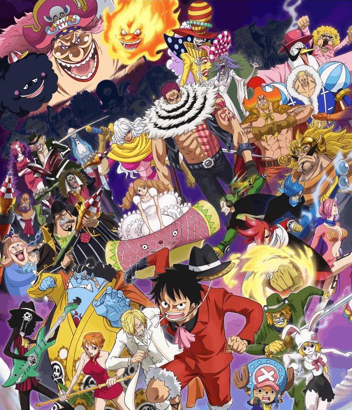 One Piece วันพีซ ภาค19 เกาะโฮลเค้ก และประชุมสภาโลก รีเวอรี่