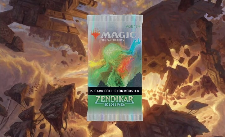 Zendikar Rising Collector Booster Contents Banner