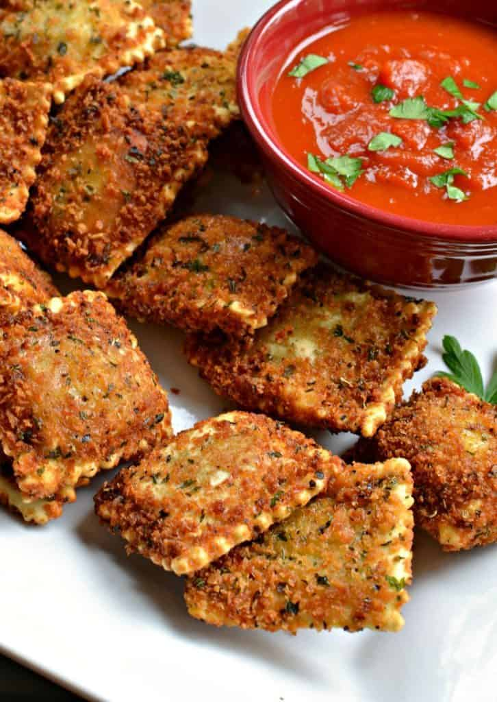 Scrumptious and Easy Toasted Ravioli
