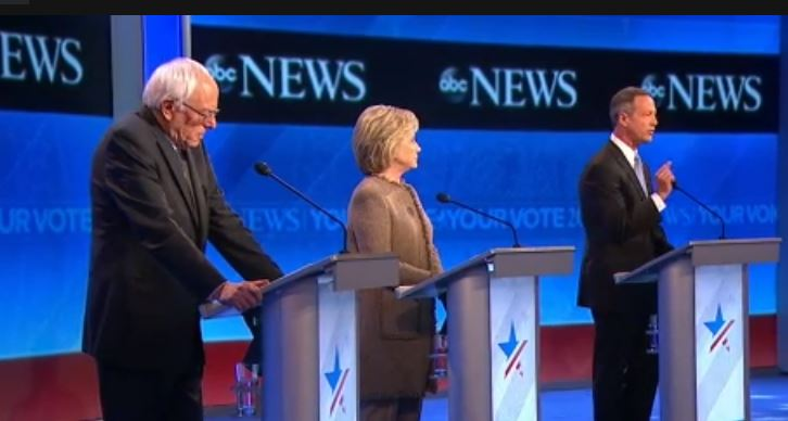 ABC News Democratic Debate