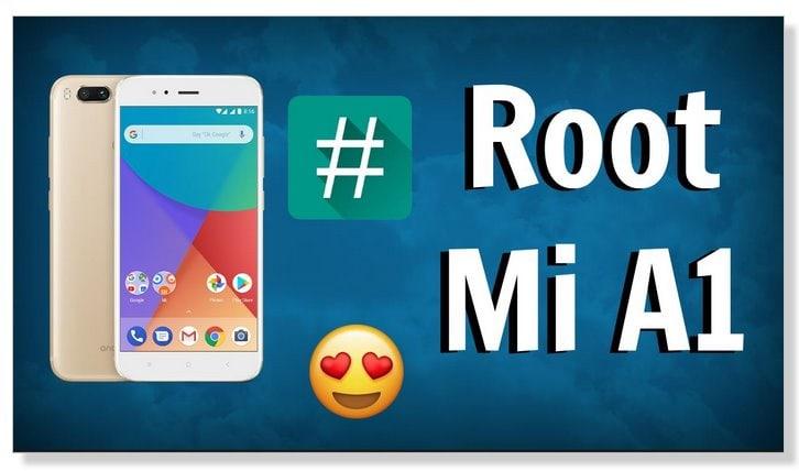 root Mi a1 one klik