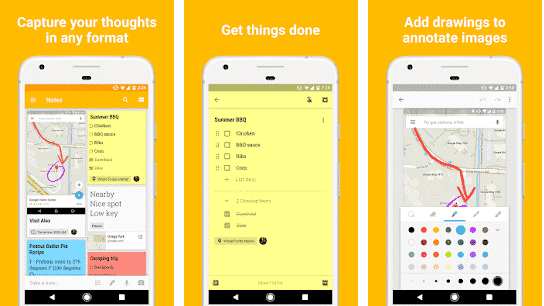 Google Keep-Best useful Apps for Android