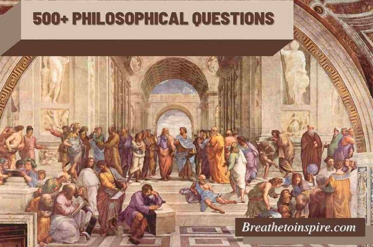 Philosophical questions (Deep, dumb, funny, kids, thought-provoking & 50 list of topics)