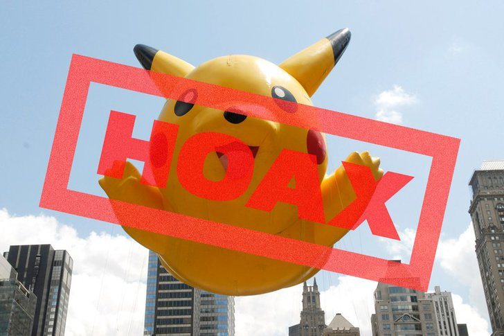 Most Popular Pokemon Go Hoaxes Everybody Believes In: