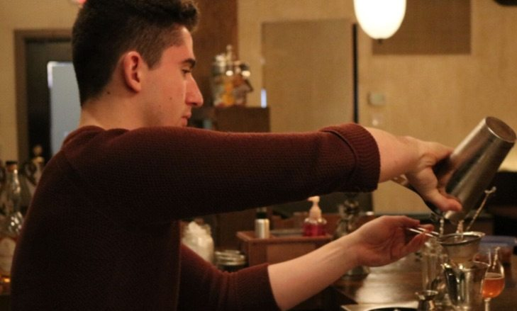 holding a bartender competition